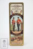 Empty Glen Moray Highland Light Infantry Malt Scotch Whisky Tin Presentation Box - Otras Colecciones
