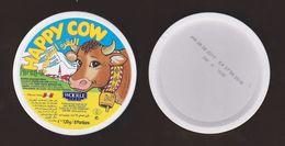 AC -  HAPPY COW TRIANGLE TRIANGULAR CREAM CHEESE EMPTY BOX - Cheese