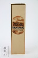 Empty 1974 Knockando J&B Pure Single Malt Scotch Whisky Presentation Box - Otras Colecciones