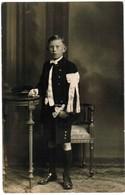 Portret Jongen, Portrait, Fotokaart, Carte Photo,J Couvreur, Menin, Menen (pk41767) - Illustrateurs & Photographes