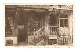 76 - ÉTRETAT L'HOSTELLERIE DE LA PLAGE ENTRÉE DE LA PATISSERIE - COLOMBAGE - ÉDITION LL N° 8 - NON CIRCULÉE - 2 Scans - Etretat