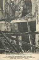 """- Dpts Div.-ref-XX703- Marne - Reims Bombardé - Rue De L Etape - Guerre 1914-18 - Verso """" La Maison Marcel Picard ... - Reims"""