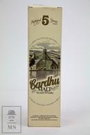 Empty Cardhu Pure Highland Malt Scotch Whisky 5 Years Old Presentation Box - Otras Colecciones