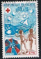 FRANCE : N° 1828 Oblitéré (Croix-Rouge) - PRIX FIXE - - France