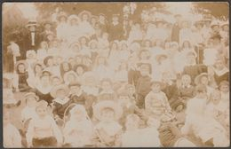 Children's Outing Near Penzance, Cornwall, C.1905 - Thomas RP Postcard - England