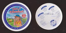 AC - AL MOUTAFAWEK TRIANGLE TRIANGULAR CREAM CHEESE EMPTY BOX - Cheese