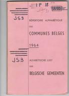 ABL Alfabetische Lijst Der Belgische Gemeenten - Livres