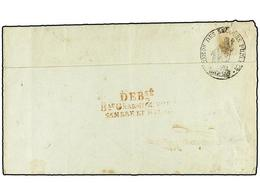34 BELGICA. 1795. PARÍS A BRUXELLES. Carta Completa Con Encabezamiento Impreso <I>' Bureau Des Pensions Civiles'</I> . M - Stamps