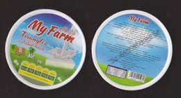 AC - MY FARM TRIANGLE TRIANGULAR CREAM CHEESE EMPTY BOX - Cheese
