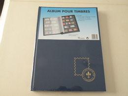 Album Neuf > Album Sans Timbres 32 Pages à Bandes Avec Feuilles Transparentes Carton Noir (jamais Ouvert) - Stockbooks