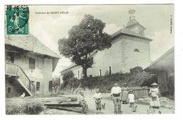 HAUTE SAVOIE 74 SAINT FELIX Intérieur Du Bourg - France