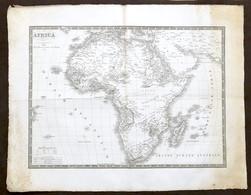 Antica Carta Geografica - Africa - 1832 - Altre Collezioni