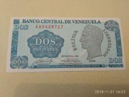 2 Bolivares 1989 - Venezuela