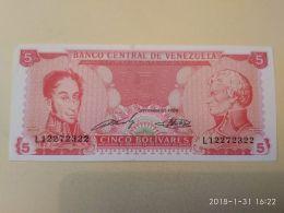 5 Bolivares 1989 - Venezuela