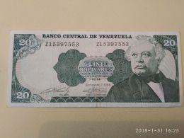 20 Bolivares 1989 - Venezuela