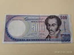 500 Bolivares 1990 - Venezuela