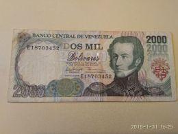2000 Bolivares 1998 - Venezuela