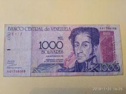 1000 Bolivares 1998 - Venezuela