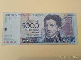 5000 Bolivares 2000 - Venezuela