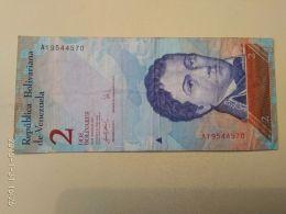 2 Bolivares 2007 - Venezuela
