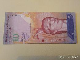 10 Bolivares 2007 - Venezuela