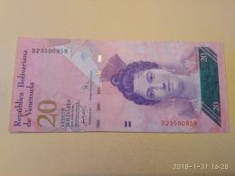 20 Bolivares 2007 - Venezuela