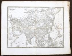 Antica Carta Geografica - Asia - 1832 - Altre Collezioni