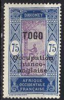 Togo N° 97 * - Togo (1914-1960)