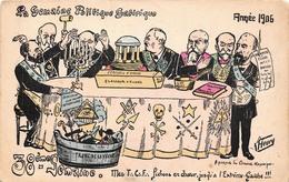 Caricature - La Semaine Politique Satirique - 38ème - 1906 - Pichons En Choeur - Hommes Politiques - Illustratoren & Fotografen