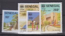 Sénégal     1984       N.       603 / 606                    COTE    6 , 70        EUROS      ( S 831 ) - Senegal (1960-...)