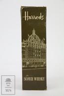 Empty Harrods Of Knightsbridge De Luxe Blended Scotch Whisky Presentation Box - Otras Colecciones