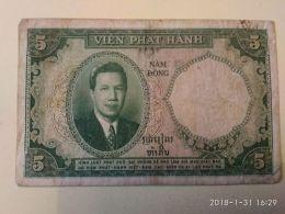 5 Piastres - Vietnam