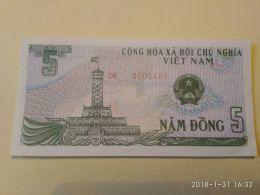 5 Dong 1985 - Vietnam
