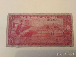 10 Dong 1962 - Vietnam