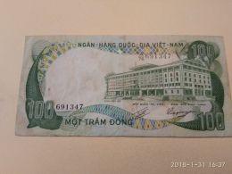 100 Dong 1972 - Vietnam