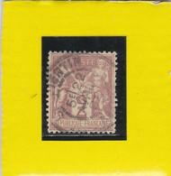 SAGE N° 85   TYPE II C    CACHET  St- QUENTIN  / AISNE    22 AVRIL 1892   -REF 14017 - 1876-1898 Sage (Type II)