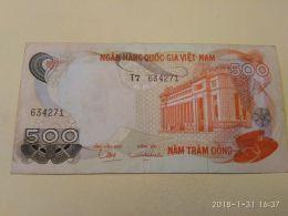 500 Dong 1969 - Vietnam
