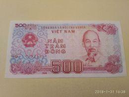 500 Dong 1987 - Vietnam