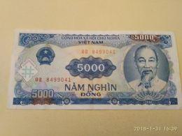5000 Dong 1991 - Vietnam