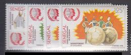 Sénégal     1985       N.       639 / 642                    COTE    4 , 00        EUROS      ( S 838 ) - Senegal (1960-...)