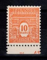 YV 629 N** BdF Arc De Triomphe Cote 38,50 Euros - France