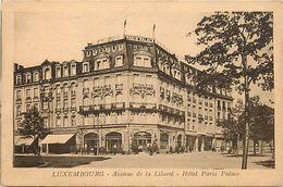 Pays Div-ref L280- Luxembourg - Luxemburg - Avenue De La Liberté - Hotel Paris Palace  - - Luxembourg - Ville