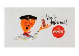 """Publicité PUB -COCA-COLA """"Vive La Différence""""   ART Ou PUBLICITE Rétrospective 20/12/95-27/2/96 CARROUSEL Du LOUVRE - Publicité"""