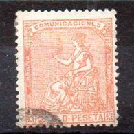 Sello De Espña N ºEdifil 131 - 1872-73 Reino: Amadeo I
