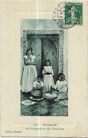 Algérie - La Préparation Du Couscous - Algérie
