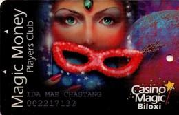 CASINO MAGIC - BILOXI. 001. - Tarjetas De Casino