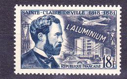 N° 1015 Inventeurs Célèbres: Saint Claire Deville ( Aluminium ): Timbre Neuf Impeccable Sans Charnière - Ongebruikt