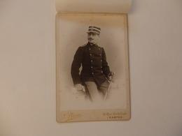 Photo D'un Officier 16,5cm/11cm De J. Bron 18, Rue De Crébillon à Nantes (44). - Non Classés