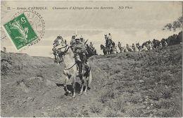 Armée D'Afrique - Chasseurs D'Afrique Dans Une Descente - Algerien