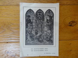 G Baudu Cure 25 Sept 1927 -26 Sept 1937 - Religione & Esoterismo